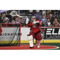Calgary Roughnecks goaltender Christian Del Bianco