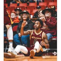 Canton Charge guard Levi Randolph
