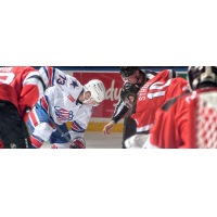 Binghamton Devils face off with the Rochester Americans
