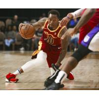 Canton Charge guard Sheldon Mac against the Stockton Kings