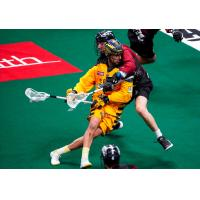 Lyle Thompson of the Georgia Swarm against the Colorado Mammoth