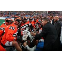Buffalo Bandits discuss strategy