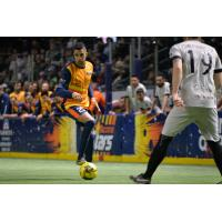 Mike Ramos of the Tacoma Stars looks to pass against the Cal Turlock Express