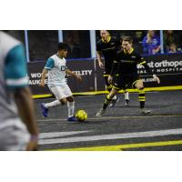 St. Louis Ambush with possession vs. the Milwaukee Wave