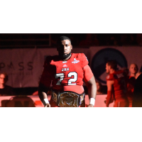 Jacksonville Sharks offensive lineman Jabari Buckley