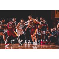 Canton Charge guard Matt Mooney with the ball vs. Raptors 905