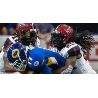 Defensive back Michael Knight with the Washington Valor