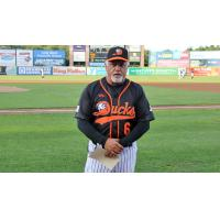 Long Island Ducks manager Wally Backman