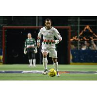 Mike Ramos brings the ball upfield during the Tacoma Stars 7-6 win