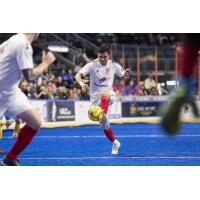 Kansas City Comets with possession vs. the Rochester Lancers