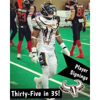 Omaha Beef DB/RB Chris Perry