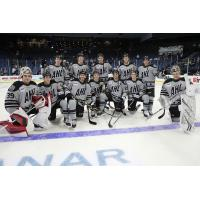 Atlantic Division team at the 2020 AHL All-Star Challenge