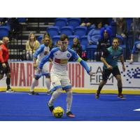 Utica City FC with possession vs.  the St. Louis Ambush