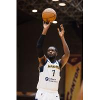 Forward Omari Johnson with the Fort Wayne Mad Ants