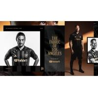 LAFC primary black jersey