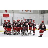 Port Huron Prowlers on the ice