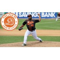 Long Island Ducks pitcher Felix Carvallo