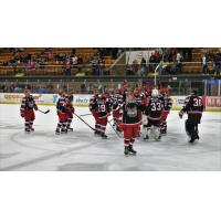Port Huron Prowlers gather after a win