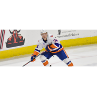 Defenseman David Quenneville with the Bridgeport Sound Tigers