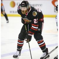 Forward Jay Dickman with the Indy Fuel
