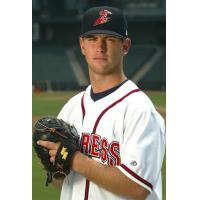 Kirk Saarloos with the Round Rock Express