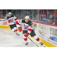 Binghamton Devils defenseman Dakota Mermis