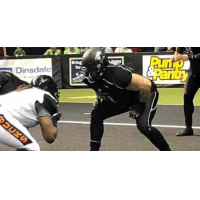 Offensive lineman Taylor Warner with the Duke City Gladiators