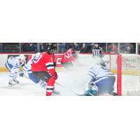 Binghamton Devils center Ben Street vs. the Toronto Marlies