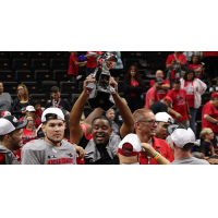 Jacksonville Sharks celebrate a title