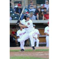 Eric Yang with the Billings Mustangs