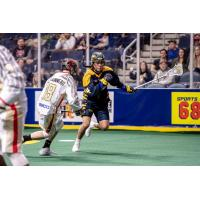 Georgia Swarm forward Lyle Thompson