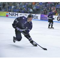 Lone Stars Brahmas purple jerseys