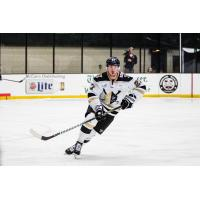 Christopher Brown with the Wheeling Nailers