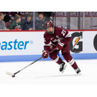 Forward Mitchell Chaffee with the University of Massachusetts