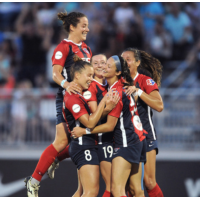 Washington Spirit celebration