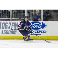 Austin Plevy of the Evansville Thunderbolts