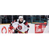 Forward Joseph Garreffa with the Ottawa 67's