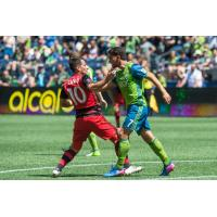 Seattle Sounders FC vs. the Portland Timbers