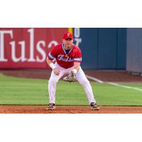 Tulsa Drillers first baseman Clay Owens from USC