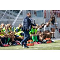 Washington Spirit coach Richie Burke