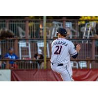 St. Cloud Rox pitcher Landen Bourassa