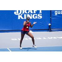 Venus Williams in action for the Washington Kastles