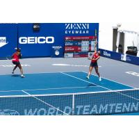 Venus Williams and Arina Rodionova in women's doubles for the Washington Kastles