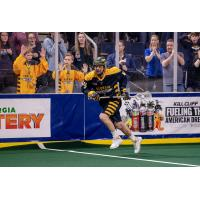 Georgia Swarm defenseman Chad Tutton