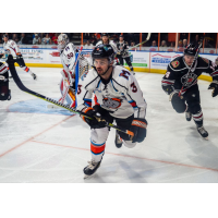 Defenseman Kevin McKernan with the Kansas City Mavericks