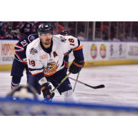 Forward Nathan Perkovich with the Greenville Swamp Rabbits