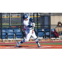 Infielder Anthony Palermo with St. Joseph's College in Brooklyn