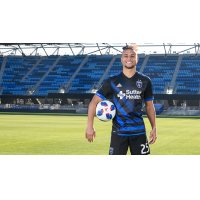 Quincy Amarikwa with the San Jose Earthquakes