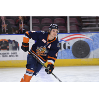 Chad Duchesne with the Greenville Swamp Rabbits