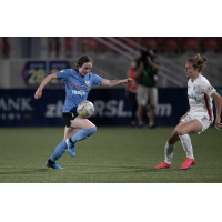 Michele Vasconcelos with the Chicago Red Stars